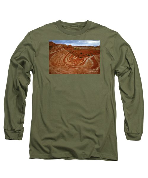 Fire Wave  Long Sleeve T-Shirt