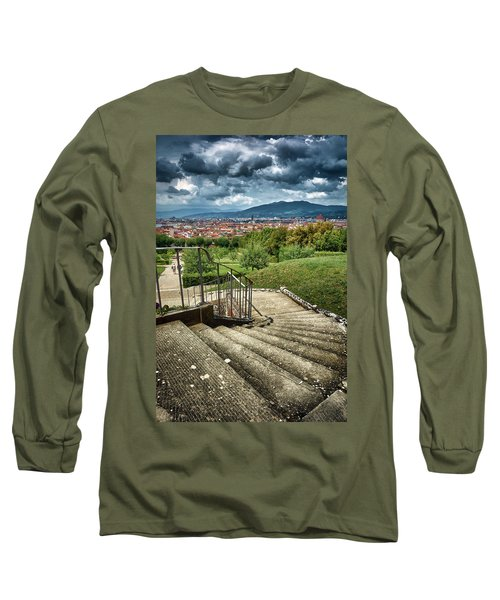 Firenze From The Boboli Gardens Long Sleeve T-Shirt