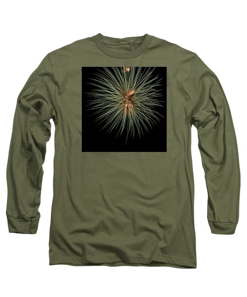 Fireworks 3 Long Sleeve T-Shirt by Ellery Russell