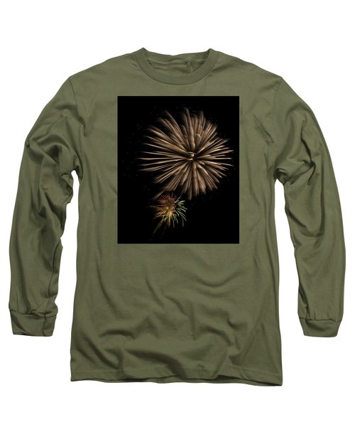 Fireworks 4 Long Sleeve T-Shirt by Ellery Russell