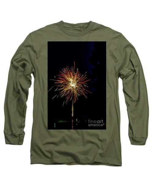 Fireworks Long Sleeve T-Shirt by William Norton