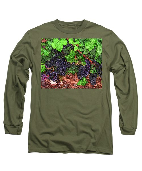 First Came The Grape Long Sleeve T-Shirt