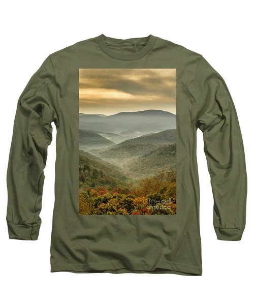 First Day Of Fall Highlands Long Sleeve T-Shirt