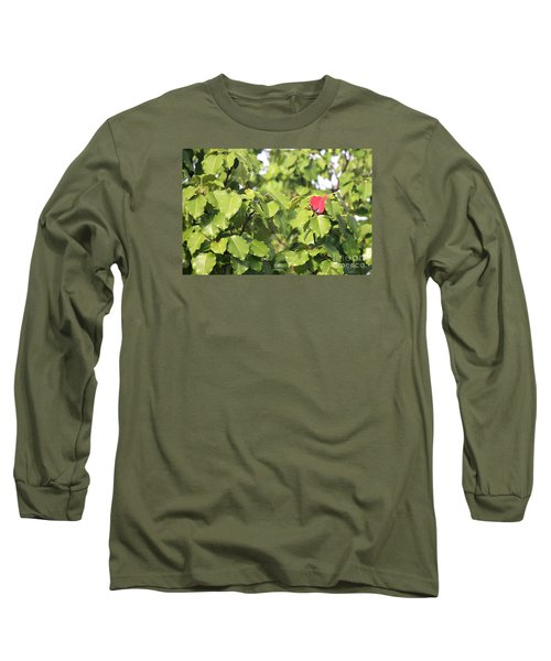 First Fall Leaf Long Sleeve T-Shirt