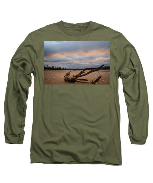 First Light On The Kaw Long Sleeve T-Shirt