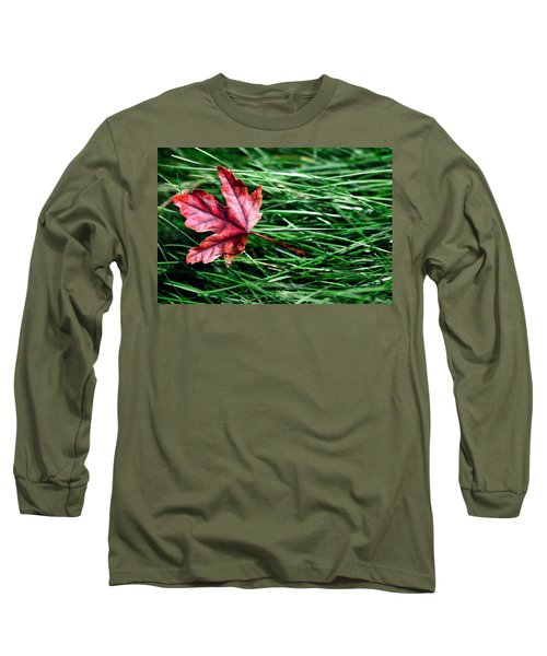 First Signs Of Autumn Long Sleeve T-Shirt