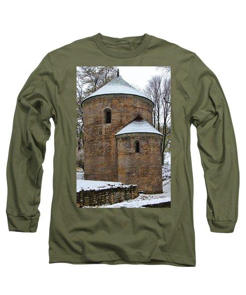 First Snow Long Sleeve T-Shirt by Mariola Bitner