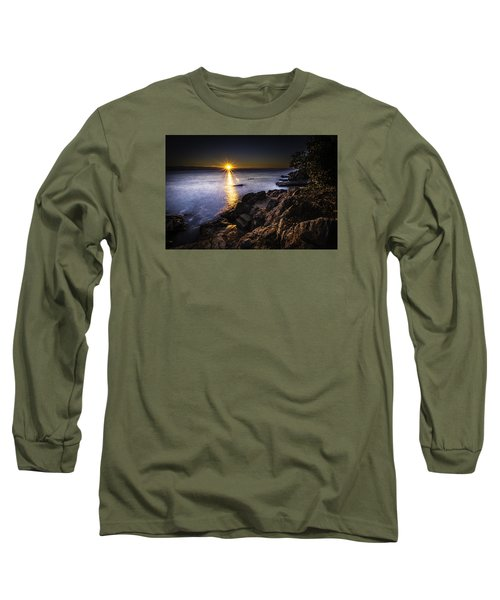 First Rays Over The Adriatic Long Sleeve T-Shirt