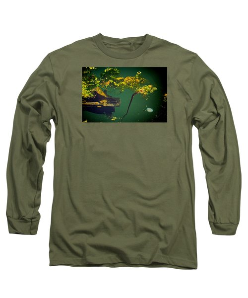 Fish Eye View Long Sleeve T-Shirt by Dale Stillman