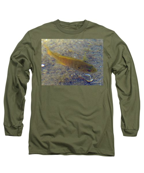 Long Sleeve T-Shirt featuring the photograph Fish Sandy Bottom by Rockin Docks Deluxephotos