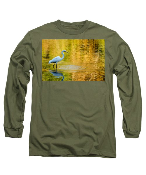 Long Sleeve T-Shirt featuring the photograph Fishing 2 by Wade Brooks