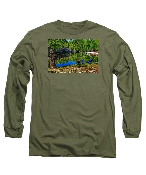 Fishing At Pickett Long Sleeve T-Shirt