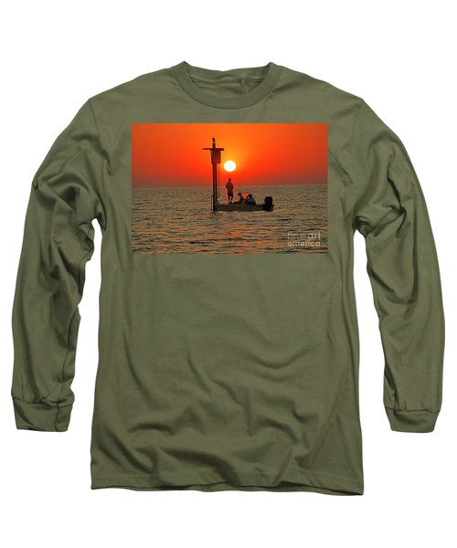 Fishing In Lacombe Louisiana Long Sleeve T-Shirt