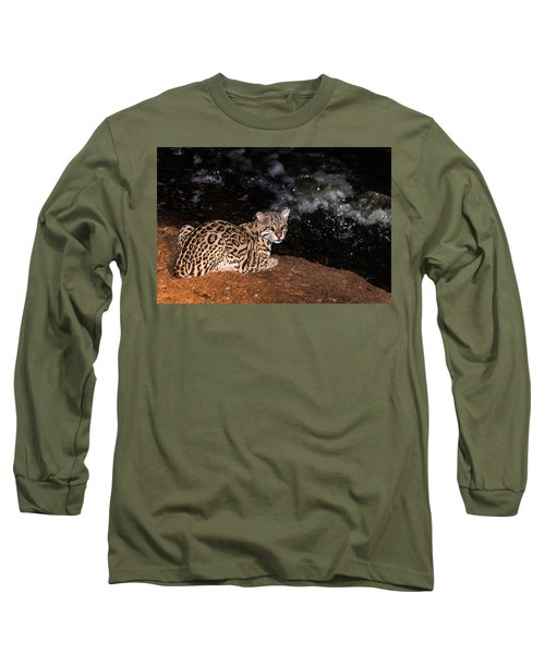 Fishing In The Stream Long Sleeve T-Shirt