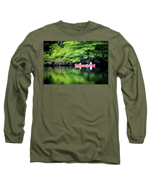 Fishing On Shady Long Sleeve T-Shirt