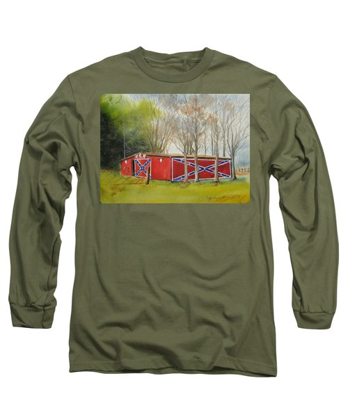 Flag Barn Long Sleeve T-Shirt