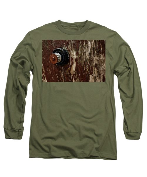 Flaking Paint Long Sleeve T-Shirt