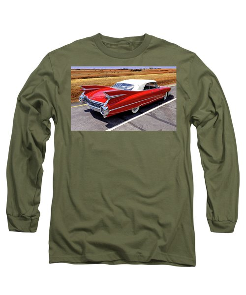 Long Sleeve T-Shirt featuring the photograph Flamboyant Fifty-nine by Christopher McKenzie