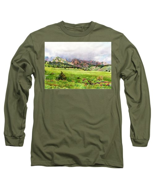 Flatirons Vista Long Sleeve T-Shirt