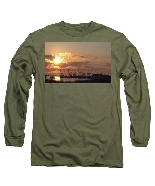 Fleet Long Sleeve T-Shirt by Newwwman