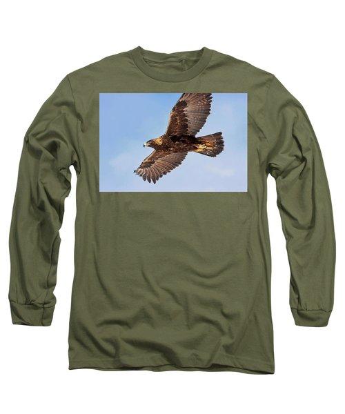 Flight Of The Golden Eagle Long Sleeve T-Shirt