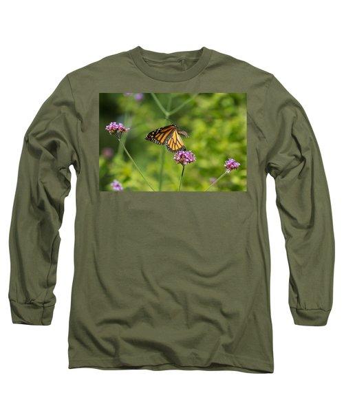 Flight Of The Monarch 1 Long Sleeve T-Shirt