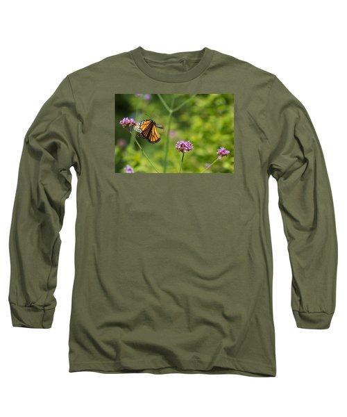 Flight Of The Monarch 2 Long Sleeve T-Shirt