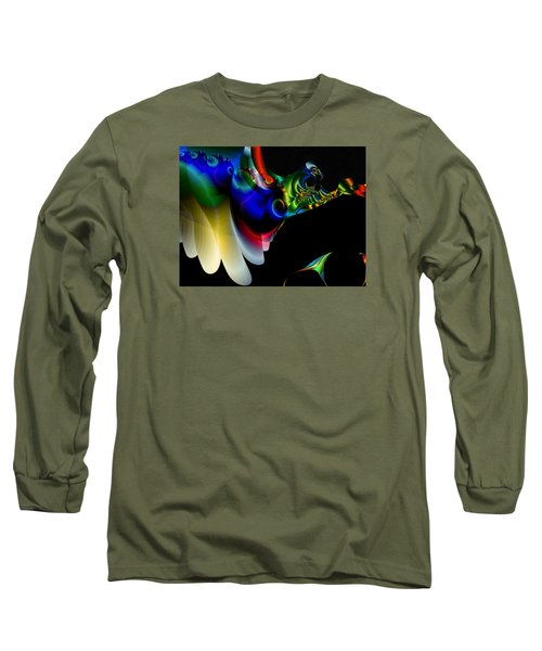 Long Sleeve T-Shirt featuring the digital art Flight Of The Phoenix by Mario Carini