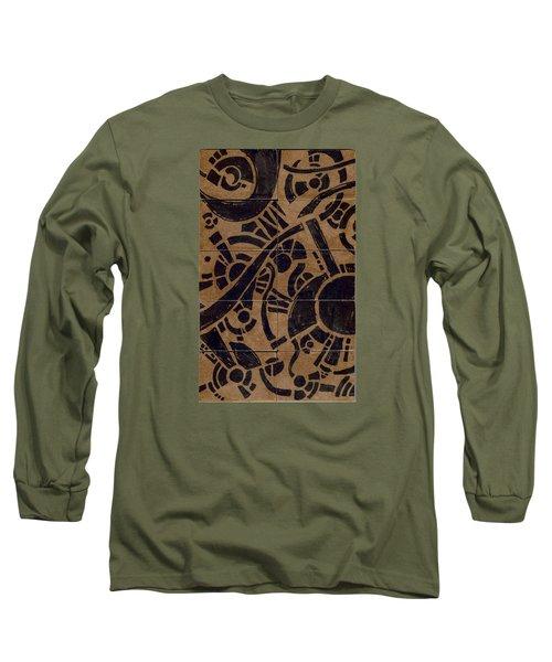 Flipside 1 Panel B Long Sleeve T-Shirt by Joseph A Langley