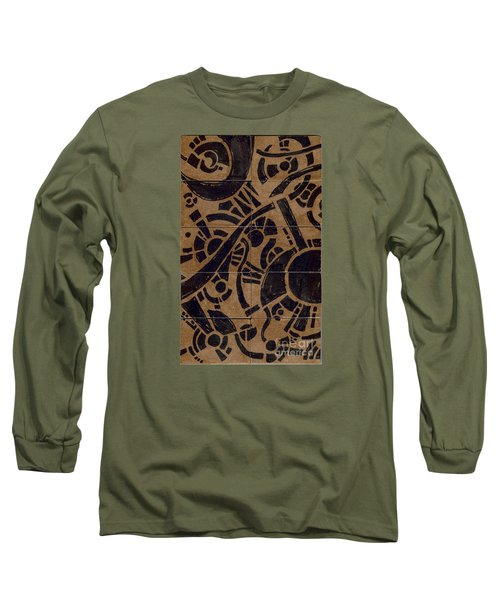 Flipside 1 Panel B Long Sleeve T-Shirt