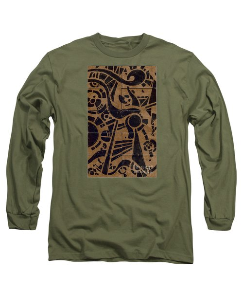 Flipside 1 Panel C Long Sleeve T-Shirt by Joseph A Langley