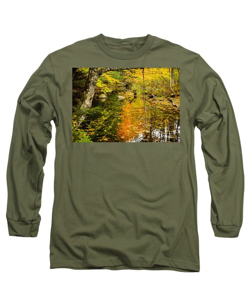 Floating Down Stream Long Sleeve T-Shirt