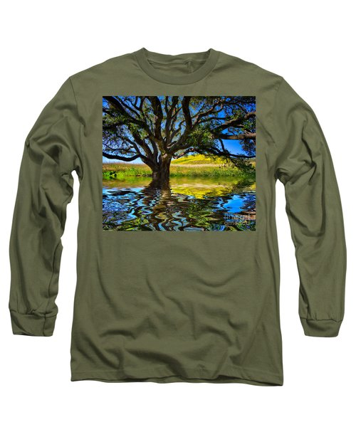 Flooded Oak Long Sleeve T-Shirt