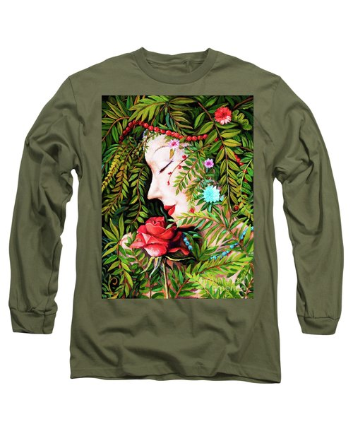 Flora-da-vita Long Sleeve T-Shirt