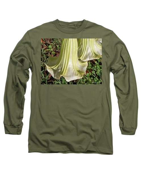 Long Sleeve T-Shirt featuring the photograph Floral Ballgown by Betty Northcutt