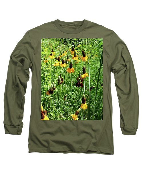 Floral Long Sleeve T-Shirt by Cynthia Powell