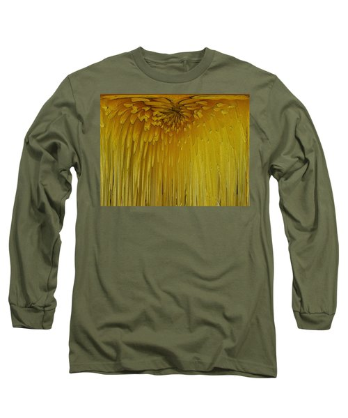 Floral Falls 5 Long Sleeve T-Shirt by Tim Allen