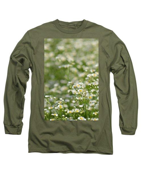 Floral Field #1 Long Sleeve T-Shirt