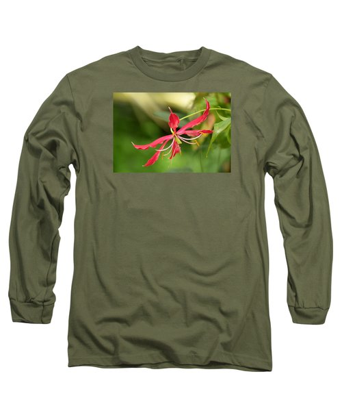 Floral Flair Long Sleeve T-Shirt