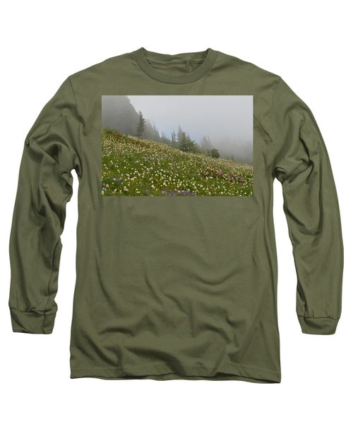 Floral Meadow Long Sleeve T-Shirt