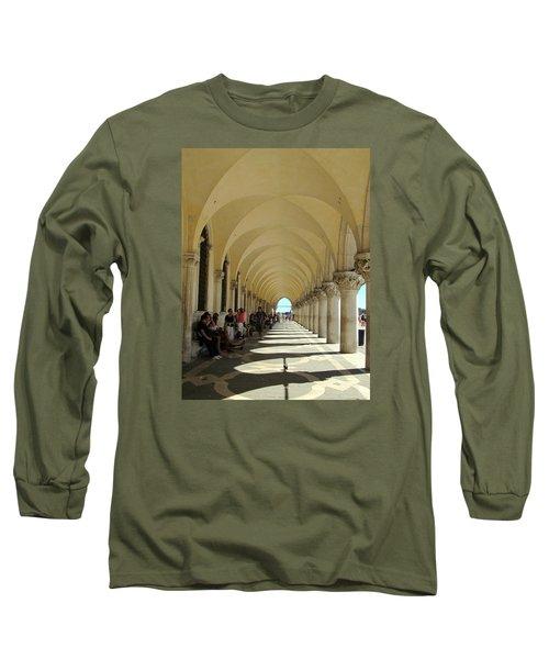 Florence Columns Long Sleeve T-Shirt by Lisa Boyd