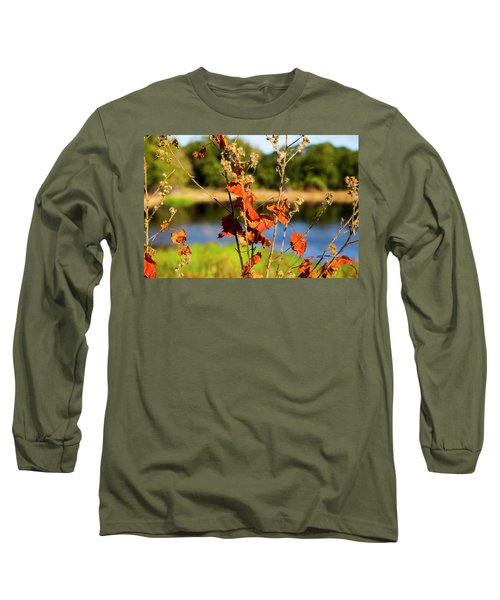 Florida Fall Leaves Long Sleeve T-Shirt