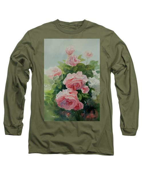 Flower 11 Long Sleeve T-Shirt by Helal Uddin