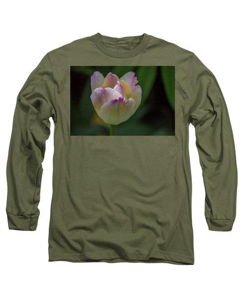 Flower 654853 Long Sleeve T-Shirt by Timothy Latta