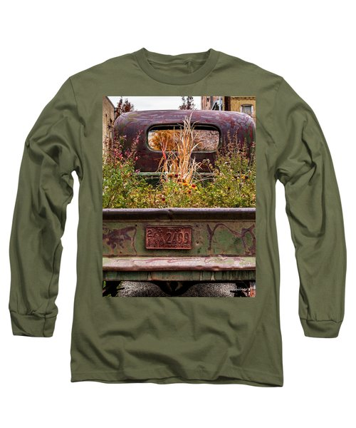 Flower Bed - Nature And Machine Long Sleeve T-Shirt