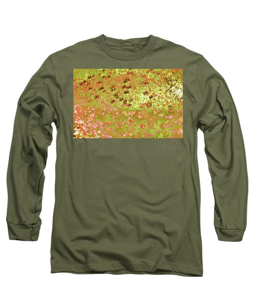 Flower Praise Long Sleeve T-Shirt by Linde Townsend