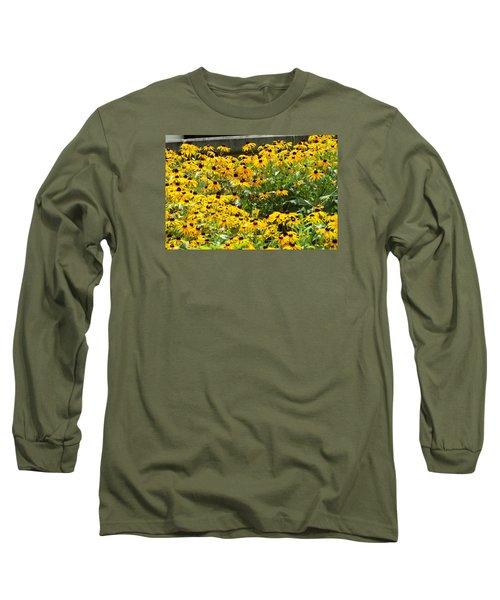 Flowers A Go Go Long Sleeve T-Shirt