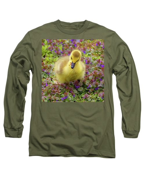 Flowers For Lunch Long Sleeve T-Shirt
