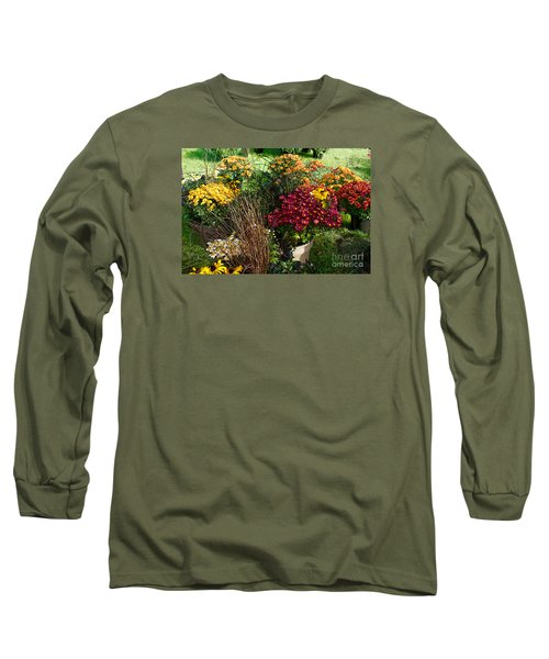 Flowers For Sale Long Sleeve T-Shirt by David Blank