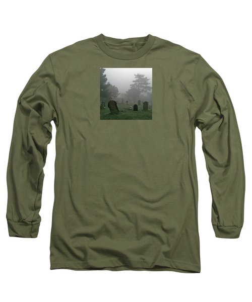 Flowers In The Mist Long Sleeve T-Shirt by Anne Kotan
